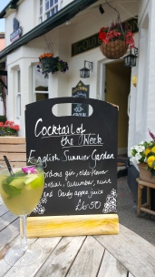 English Summer Garden cocktail