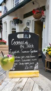 English Summer Garden cocktail