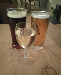 Broadside, Brewers Gold, and Sauvignion Blanc