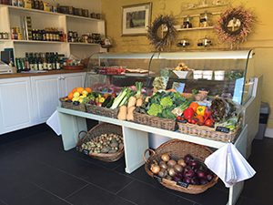 deli shop counter