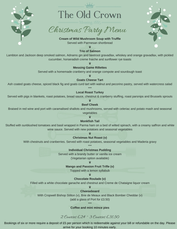 Set Christmas Menu (1)