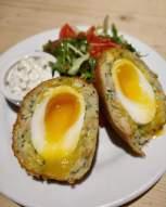 smoked haddock scottish egg